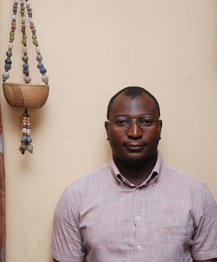 Umar Sidi -- Photograph courtesy the poet